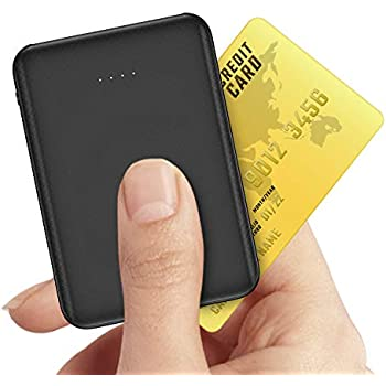 Small Power Bank Metecsmart Mini Portable Charger 5V 2A 5000mAh USB External Backup Lightweight Travel Thin Ultra Slim Tiny Mobile Rechargeable Battery Pack for Cell Phones iPhone 11 Samsung Android