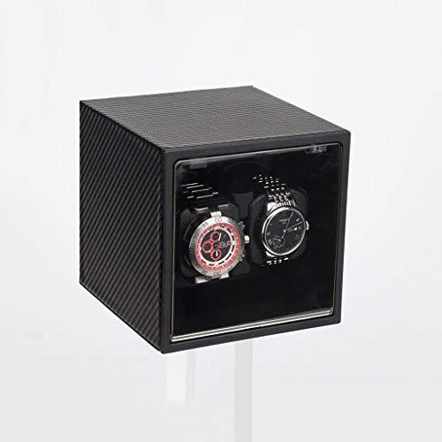 N/B Mira el enrollador Mira Las Cajas del enrollador Mira la máquina de bobinado automático Caja de enrollamiento Caja de Reloj eléctrico Motor Turner Mira enrollador (Color: B) Reloj