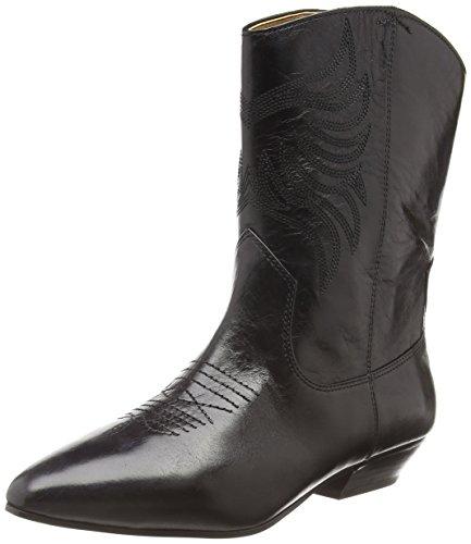 ALDO Damen ASALIDIA Cowboy Stiefel, Schwarz (Black Leather / 97), 36
