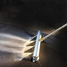 LIXUDECO Nozzle 33cm hoge druk waterstralen parking wasmachine slang sproeien waternevel mondstukpakket gesp reinigingsger...