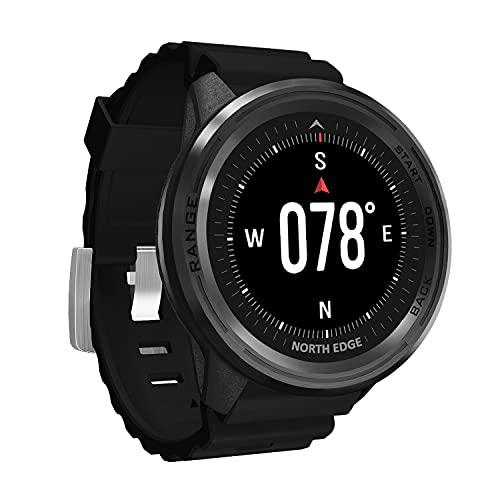 Hombres a Prueba de Agua 50m Reloj Digital Hombres Mujeres Fitness Deporte Relojes GPS smartwatch