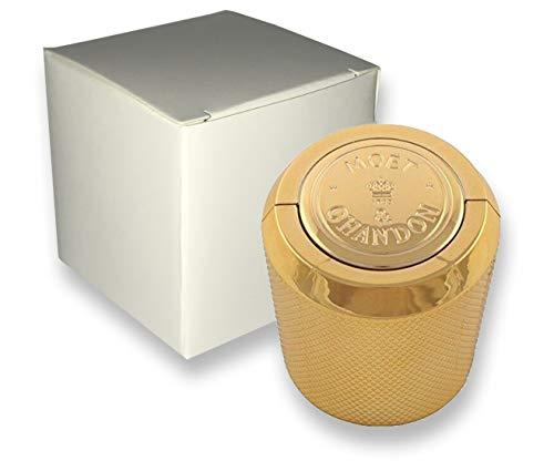 Moet & Chandon Champagner Flaschenverschluss für 0.75 und 1.5 Liter Magnum Flaschen in Geschenkbox (weiß)