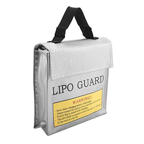 Bolsa de lipo portátil, bolsa de batería de lipo portátil a prueba de fuego ambiental segura, para taller (número 3)