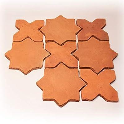 Natural Terracotta Cross + Star (2 Piece Pattern)
