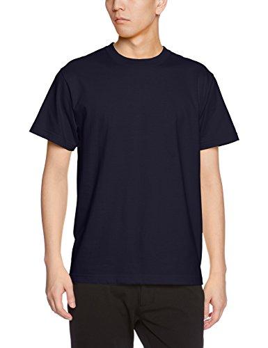 (ユナイテッドアスレ)UnitedAthle 5.6オンス ハイクオリティー Tシャツ 500101 086 ネイビー XL