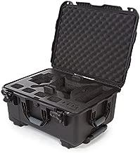 Nanuk DJI Drone Waterproof Hard Case with Wheels and Custom Foam Insert for DJI Phantom 4/ Phantom 4 Pro (Pro+) / Advanced (Advanced+) & Phantom 3 - Black