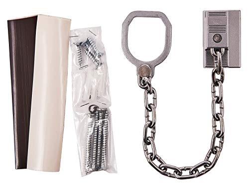 Am-Tech Security Door Chain, T1985