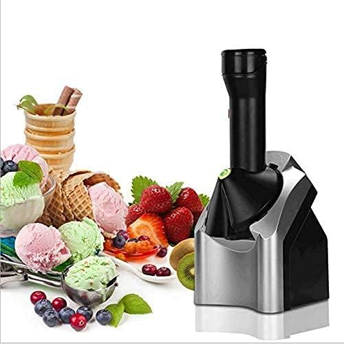RTOFO Helado para el hogar, la máquina de Helados de Frutas de Postre, para niños Adultos Hace sorbetes de Helados deliciosos