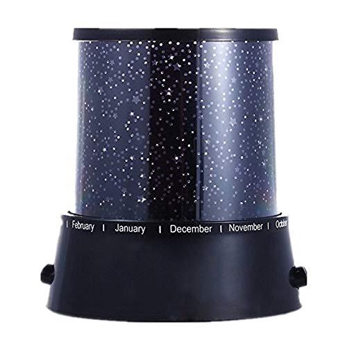 Cosmo Star Master - Luz nocturna romántica de colores, lámpara de proyector de LED, lámpara de noche, regalo