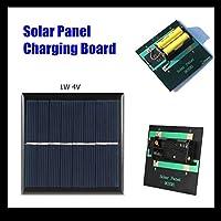 太陽光パネル 装置 パワーボード1W 4V 0.25A充電ポータブルソーラーパネルの発電充電器