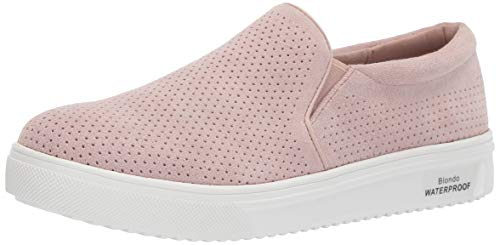 Blondo GALLERT Sneaker, Light Pink Suede, 6.5 Medium US