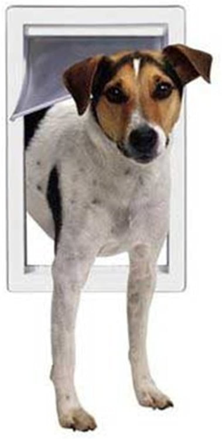 Perfect Pet Small Pet Door with Telescoping Frame, 5Inch by 7Inch Opening
