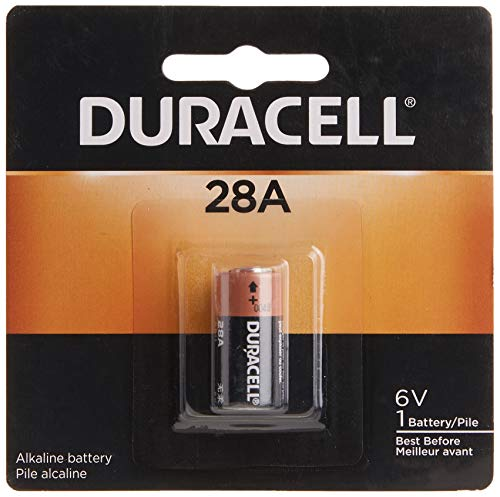 Duracell 6V Specialty Alkaline Battery - long-lasting battery - 6 Count