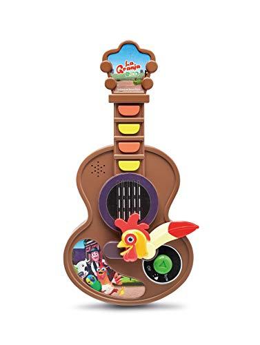 La Granja de Zenón- Guitarra Gallo Bartolito, Multicolor, T