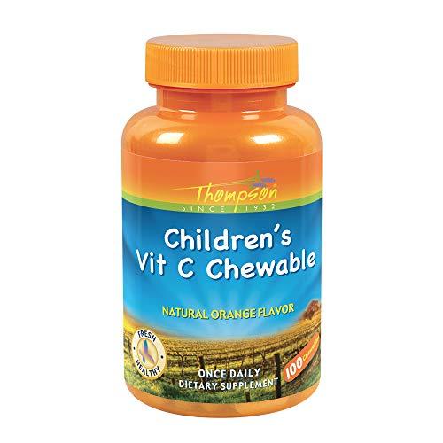 C-100 Child's Chew Orange 100T 100 Tablets