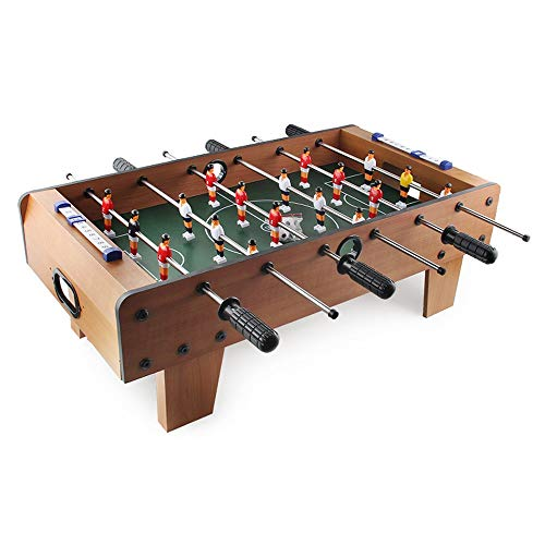 Read About QERNTPEY-Home Foosball Tabletop Games Portable Mini Size Foosball Soccer Tabletops Soccer...