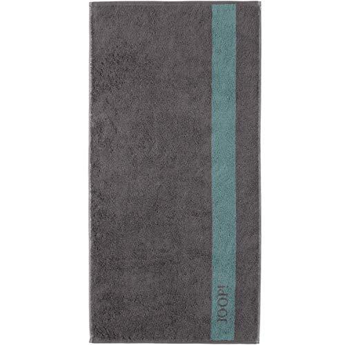 Joop! Handtuch Infinity Doubleface 1678 | 74 Graphite - 50 x 100