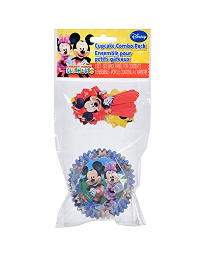 Mickey Mouse Clubhouse Cupcake Liners