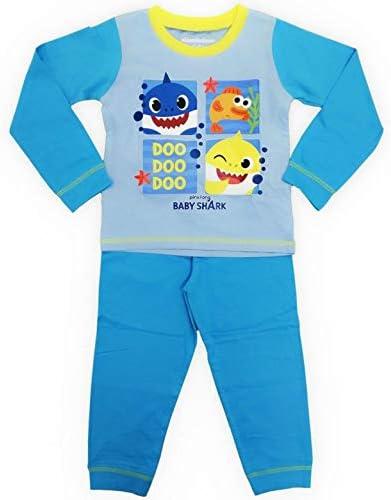 "Filles Bébé requin Pyjamas chanson /""DOO.. Doo!!!/"" 18 M 2,3,4,5 ans Nouveau DOO.."