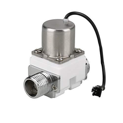 Fashion SHOP Valvula solenoide Durable válvula solenoide 1/2'DC 4 .5V de Control de Agua eléctrico de Pulso Accesorio válvula de solenoide de plástico Solenoide