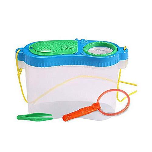 Caja De Alimentación De Animales Pequeños Observación Educación Temprana Caja De Investigación Experimental Cajas De Plástico Juguete De Crianza Neta Juguetes Para Niños Niños Chicas (color Aleatorio)