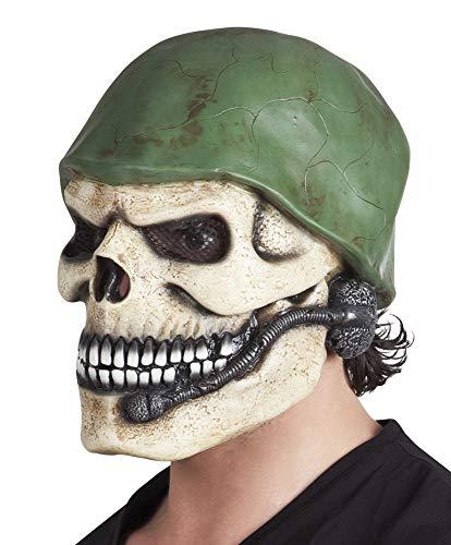 Boland BOL97513 Maschera in Lattice Teschio Militare