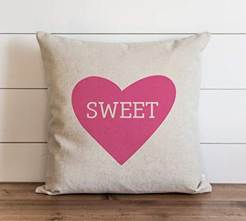 Funda de almohada para el día de San Valentín con cierre oculto de cremallera para sofá, banco, cama, decoración del hogar, 60 x 60 cm