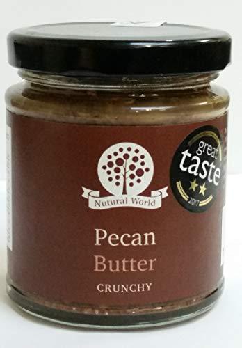 Nutural World - Mantequilla Crujiente de Nuez (170g) Galardonado al Mejor Sabor