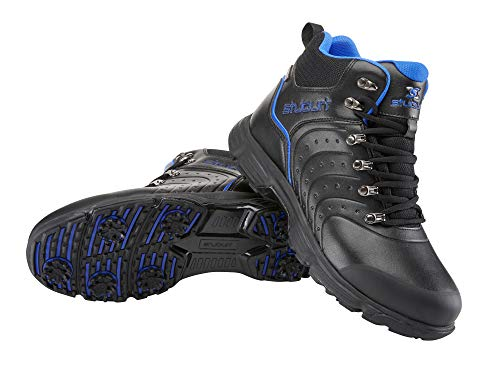 Stuburt Mens Evolve II Waterproof Winter Boot Golf Shoe, Schwarz, 42 EU
