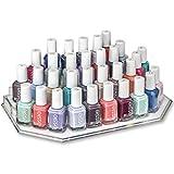 byAlegory Acrylic Finger Nail Polish Makeup Organiser Vanity Space Bottle Display 4 Tier Storage
