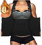 LODAY Womens Shapewear Weight Loss Neoprene Sauna Sweat Waist Trainer Corset Tank Top Vest Sport Workout Slimming Body Shaper