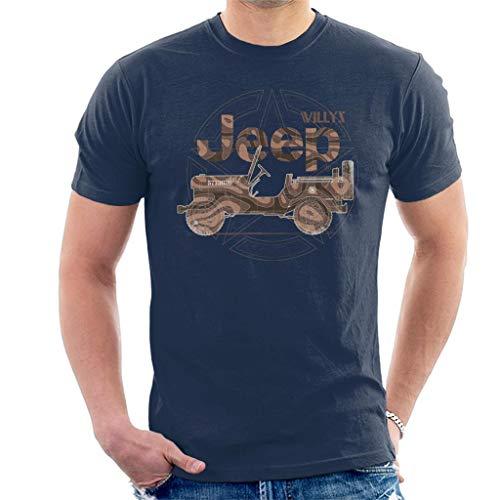 Jeep Willys MA Star Men's T-Shirt