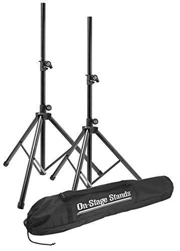 On-Stage SSP7900 All-Aluminum Speaker Stand Package with Bag