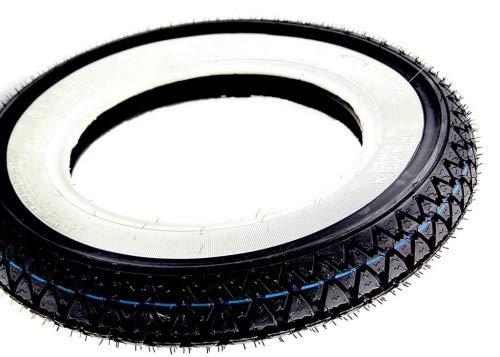 Weißwandreifen Reifen Kenda 3.50-10 Zoll 4PR 51J für China Roller/Scooter, Hercules CV, Honda Dax 50 ST70 ZB50 Monkey