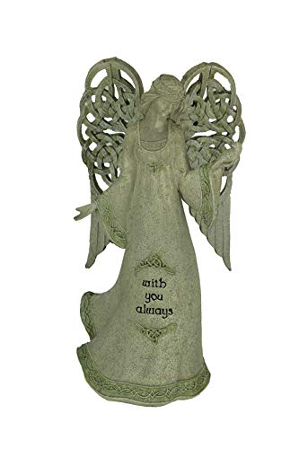 Grasslands Road Celtic Knot Winged Angel Figurine - with You Always