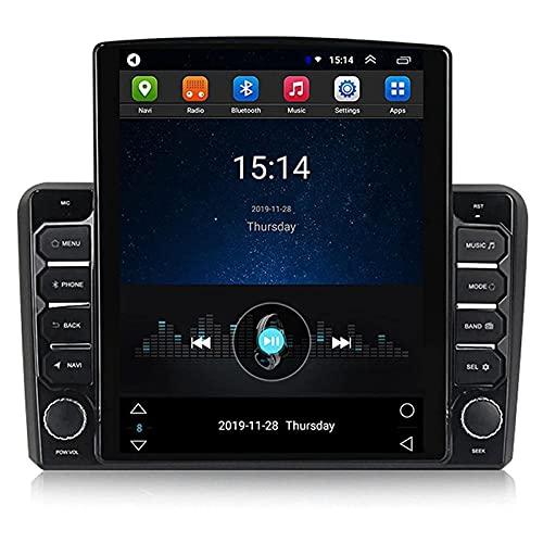 SuRose Radio estéreo para Coche Android 9.0, Doble DIN para Audi A3 2006-2012, Unidad Principal de 9,7 Pulgadas con Pantalla táctil Vertical con navegación GPS Bluetooth FM Mirror Link Cámara Trasera