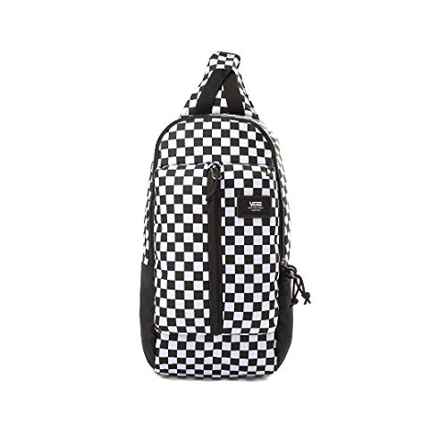 Rucksack MN Warp Sling Bag Black/White Check