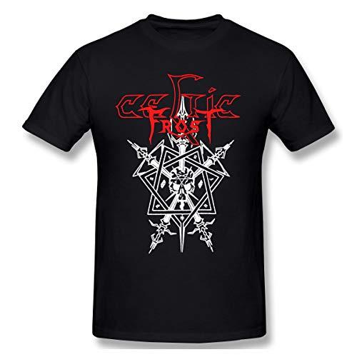 HorseTe Men's Celtic Frost Fashion T Shirt Black XL