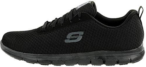 Skechers Damen GHENTER BRONAUGH Sneaker, Schwarz, 39 EU