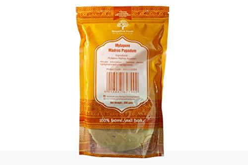 BanyanTree Foods Mylapore Madras Papadum - Mikrowellengeeignet 200g