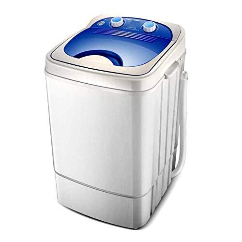 JJSFJH Mini-Waschmaschine, Maschine Halbautomatische Haushaltseinzel Eimer Waschen mit großer Kapazität, Blu-ray Antibakteriell