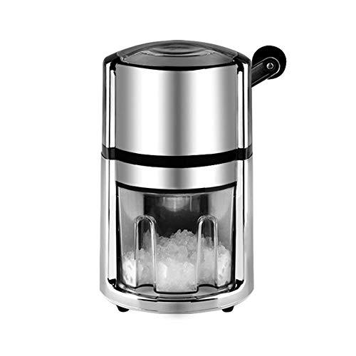 LCLLXB Eismischer Eismaschine Smoothie-Maschine Eiskratzer Gewerblicher Haushalt Manuelle Steuerung Kleine kalte Milch-Tee-Bar