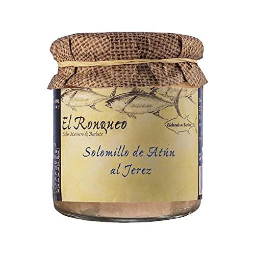 Conservering van Atun al Jerez – glas met 250 g – conserveringsmiddelen (1 glas)