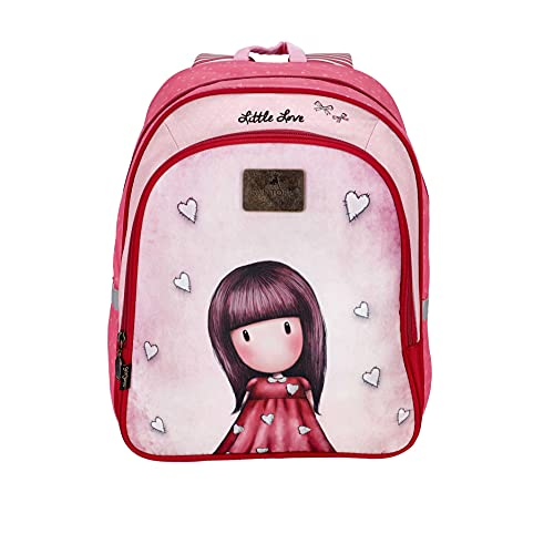 SANTORO Gorjuss Rucksack/Backpack Little Love, 40 cm, 12L, 21GJS903-LL 21GJS903-LL-Mochila, 12 L, 40 x 29 x 10 para Niñas