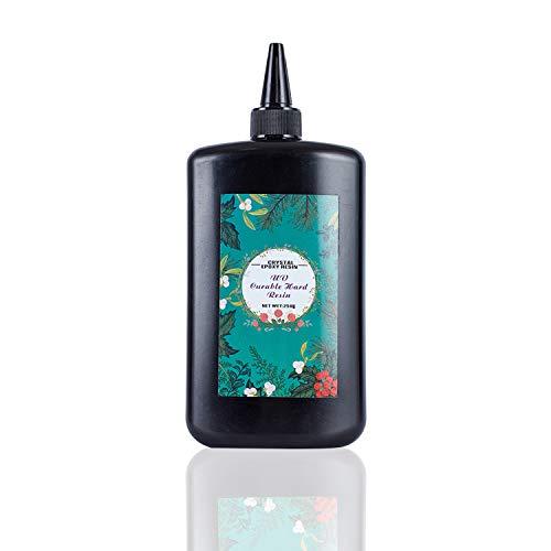250g UV Resina Epoxi Transparente Sin Tóxico Curado Rápido No Mezcla para Hacer Manualidades Joyas Joyería DIY Uso con Moldes Accesorios para Diseño Uñas