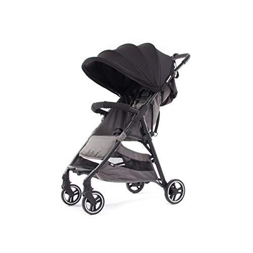 Baby Monsters- Silla ligera de Paseo Kuki 2 2020 + Pack Color (Negra)