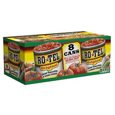 RO-TEL Diced Tomatoes & Green Chilies 10 oz., 8 ct. A1