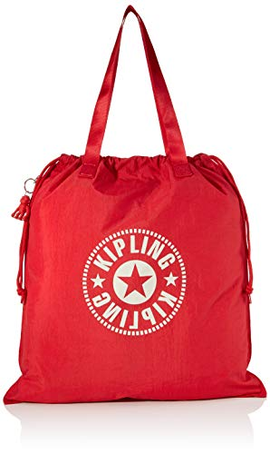 Kipling New Hiphurray L Fold Womens Tote Red Lively Red 01x45x495 cm B x H T