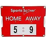 sports scorer Spielstand Anzeiger Home Away - Tischtennis, Fussball, manuell, leicht, praktisch, klein 46cm x 32cm