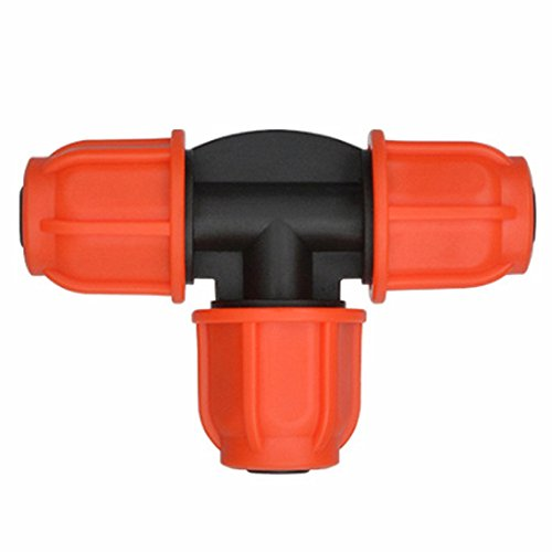 Adhere To Fly Lot de 10 Tuyau d'arrosage Connecteurs Adaptateur Farm Pays tropf tubes Répartiteur ferrures 8/11 mm